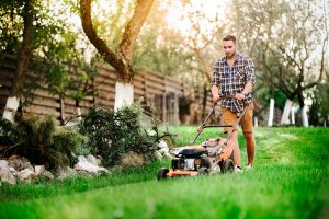 The Most Efficient Way to Mow Your Lawn